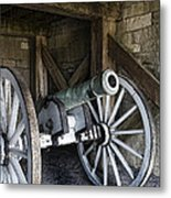 Cannon Storage Metal Print by Peter Chilelli