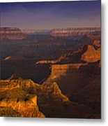 Canyon Shadows Metal Print by Andrew Soundarajan