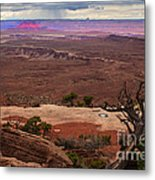 Canyonland Overlook Metal Print by Robert Bales