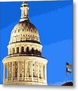 Capitol Dome Color 16 Metal Print by Scott Kelley