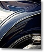 Car Abstract Metal Print by Odd Jeppesen