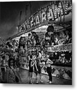 Carnival - Game-a-rama Metal Print by Mike Savad