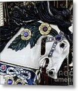 Carousel Horse - 9 Metal Print by Paul Ward