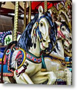 Carousel Horse 2 Metal Print by Paul Ward