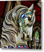 Carousel Horse 3 Metal Print by Paul Ward