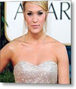 Carrie Underwood At Arrivals For The Metal Print by Everett