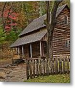 Carter House Metal Print by Charles Warren