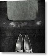 Case And Shoes Metal Print by Joana Kruse