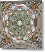 Cathedral Dome Interior, Close Up Metal Print by Axiom Photographic