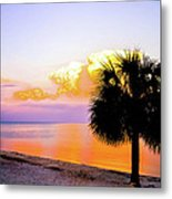 Cedar Key Sunset Metal Print by Shannon Harrington