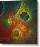 Celestial Objects Metal Print by Mary Lane