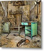 Cell Block 5 Metal Print by Paul Ward