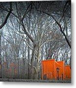 Central Park Metal Print by Naxart Studio
