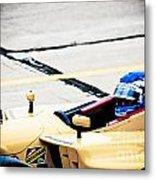 Champ Car Driver Metal Print by Darcy Michaelchuk