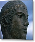 Charioteer Of Delphi Metal Print by Photo Researchers