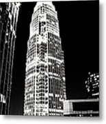 Charlotte North Carolina Bank Of America Building Metal Print by Kim Fearheiley