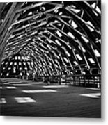 Chatham Dockyard Covered Slip No3 Metal Print by Dawn OConnor