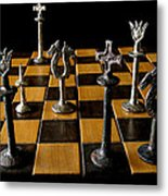 Checkmate Metal Print by David Salter