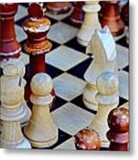 Checkmate Metal Print by Russ Harris