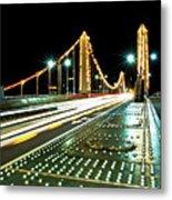 Chelsea Bridge Metal Print by Vulture Labs