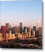 Chicago Panoramic  Metal Print by Jeff Lewis
