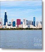 Chicago Skyline Metal Print by Paul Velgos