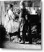 Child Labor Metal Print by Omikron