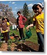 Children From Bancroft Elementary Metal Print by Everett