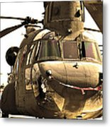 Chinook Metal Print by Mitch Cat