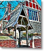 Christ Church Of St Michaels Metal Print by Stephen Younts