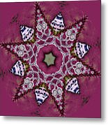 Christmas Star Metal Print by Bonnie Bruno
