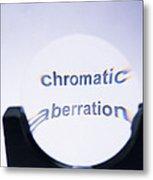 Chromatic Aberration Metal Print by Andrew Lambert Photography