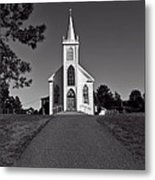 Church St Teresas Of Avila  Metal Print by Garry Gay