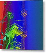 Chutes And Ladders Metal Print by MJ Olsen