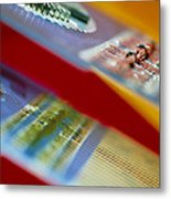 Circuits Used In Testing Microchip Functions Metal Print by Chris Knapton