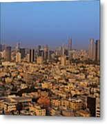 City Skyline Metal Print by Noam Armonn