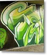 City Sponsored And Approved Graffiti Metal Print by Bill Hatcher