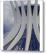 Citymarks Brasilia Metal Print by Roberto Alamino