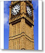 Citymarks London Metal Print by Roberto Alamino