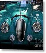 Classic Green Jaguar . 40d9411 Metal Print by Wingsdomain Art and Photography