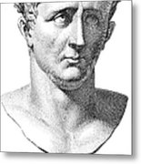Claudius I (10 B.c.-54 A.d.) Metal Print by Granger