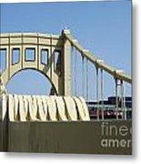 Clemente Bridge Metal Print by Chad Thompson