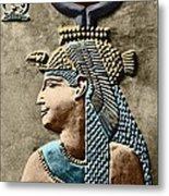 Cleopatra Vii Metal Print by Sheila Terry