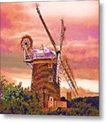 Cley Windmill 2 Metal Print by Chris Thaxter