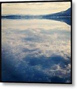 Clouds Reflected On River Metal Print by Jodie Griggs