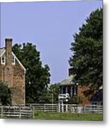 Clover Hill Tavern And Kitchen Appomattox Virginia Metal Print by Teresa Mucha