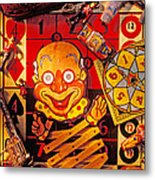 Clown Toy And Old Playthings Metal Print by Garry Gay