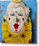Clown Toy Game Metal Print by Garry Gay