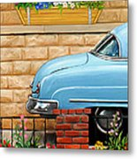 Clunker In The Garden Metal Print by David Kyte