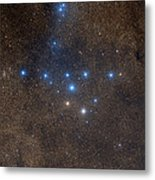 Coathanger Star Cluster Metal Print by Celestial Image Co.